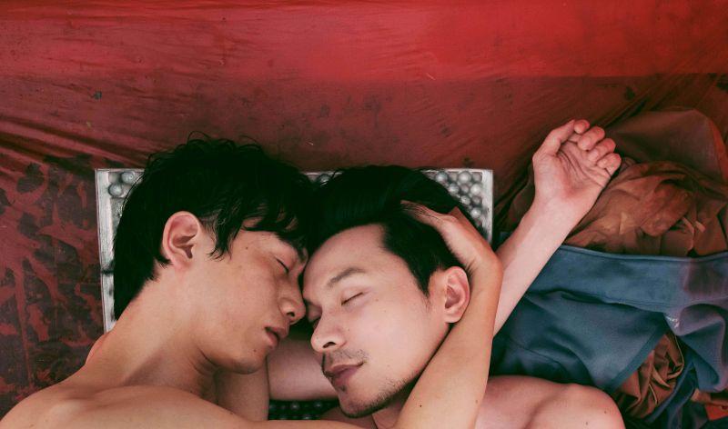 ▲《親愛的房客》導演公開莫子儀(左)與姚淳耀的激情片段。(圖/牽猴子)