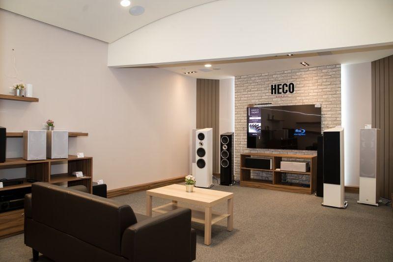 ▲今年首次和德國元老級音響品牌HECO合作,HECO是德國揚聲器傳統品牌,創立於1949年至今已擁有71年歷史。(圖/資料照片)