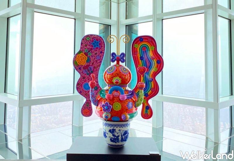 ▲當代雕塑藝術家-洪易大師的創作(圖|李維唐/Taipei