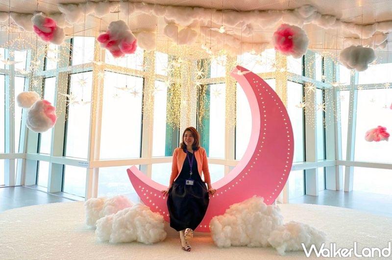 ▲除了全新「101樓」,台北101觀光旅遊事業處在89樓觀景台以「讓愛點亮夜空」為主軸,策畫浪漫打卡新亮點。(圖|李維唐/Taipei