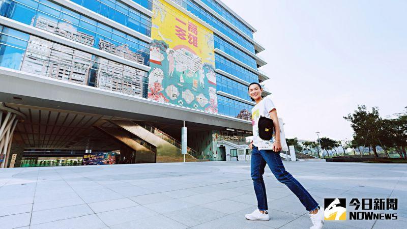 ▲ 高雄市立圖書館邀請到世界球后戴資穎合作拍攝系列照片和影片。(圖/高雄市立圖書館提供)
