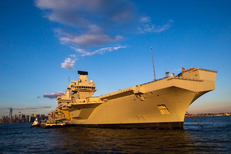 共同社:英國明年 將向日本近海派遣航艦