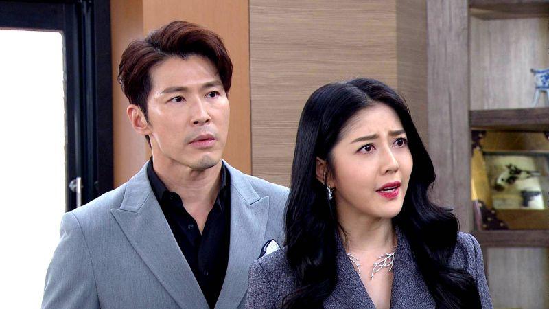 ▲韓瑜(右)在《天之驕女》飾演黃少祺的辣妻。(圖 / 三立提供)