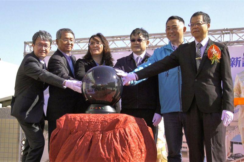 台電金門塔山電廠新設第九、十號發電機今竣工啟用。(圖/記者蔡若喬攝)