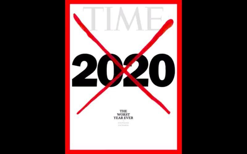 2020被打「紅色大叉叉」!《時代》雜誌:史上最糟的一年