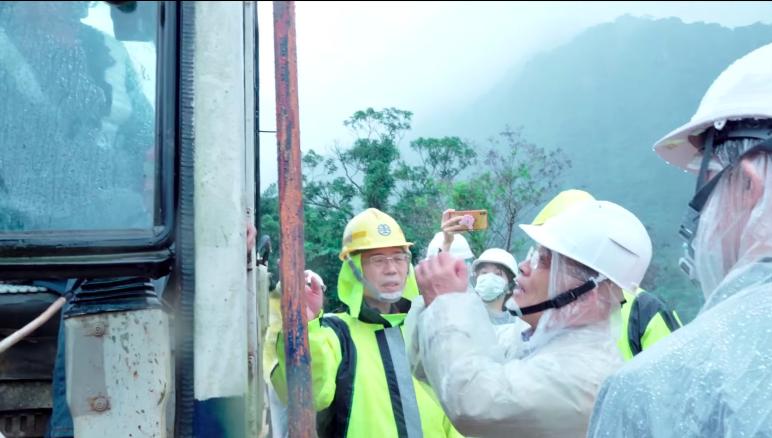 連日豪雨台鐵坍方路段<b>搶修</b>難度高 蘇貞昌前往視察並致謝