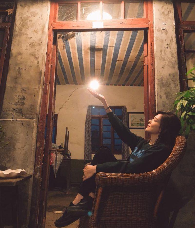 ▲許瑋甯期許自己能成為一個有故事的女人。(圖/許瑋甯臉書)