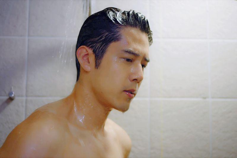 ▲胡宇威淋浴戲成收視高點。(圖
