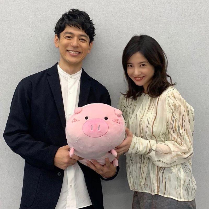 ▲《危險維納斯》由妻夫木聰(左)、吉高由里子主演。(圖/kikenna_venus_tbs