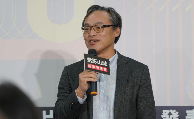 ▲評審代表名衍行銷總經理黃成翰親臨現場致詞。(圖/記者蘇榮泉攝,2020.12.09)