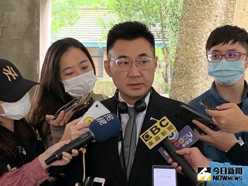 凍結潛艦預算被質疑 江啟臣:和白色恐怖有何不同