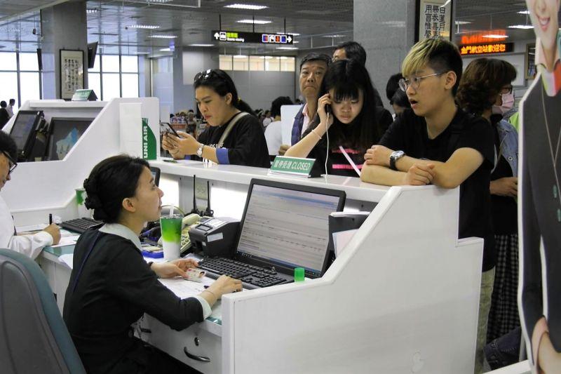 110年春節台金返鄉機票第二波訂位將預定在12月29日開訂。(圖/記者蔡若喬)