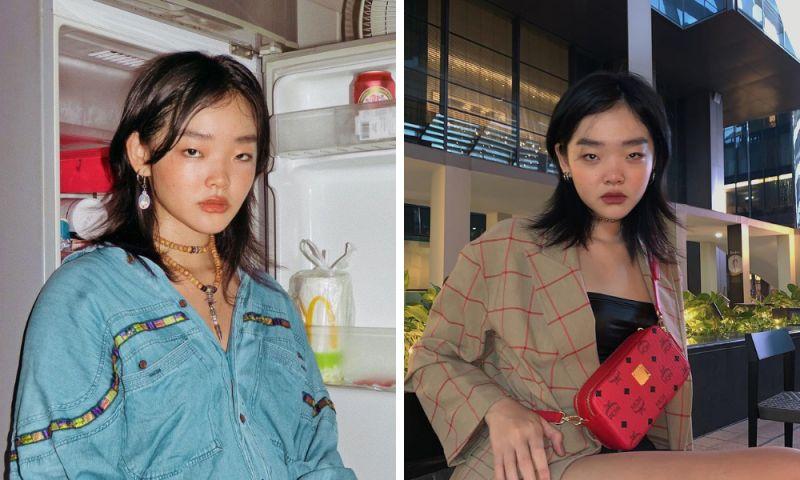 ▲新加坡新銳模特兒