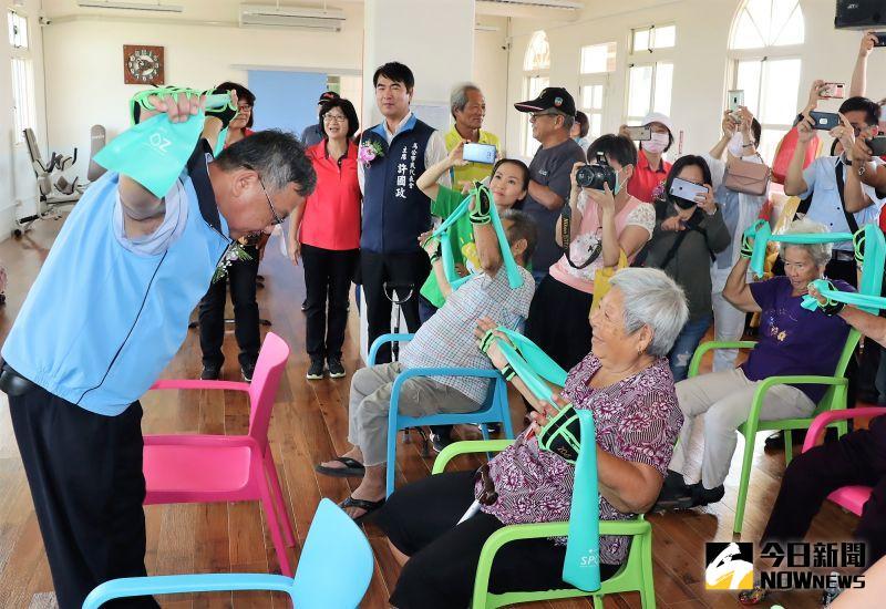 ▲「菊島時間銀行」將導向「初老」服務「老老」,營造一個友善互助的友善城市。(圖/記者張塵攝,2020.12.11)