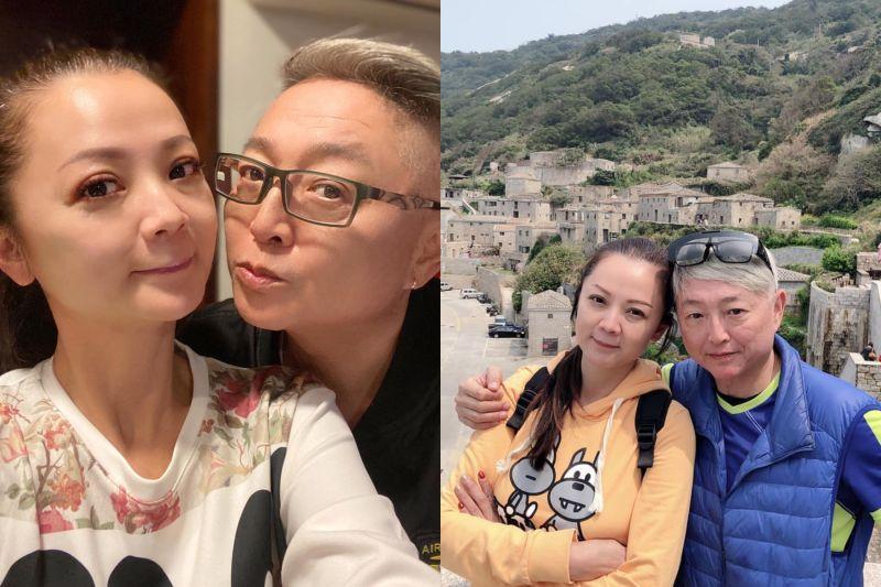 ▲李國超、高欣欣明(12)日將登記結婚。(圖 / 高欣欣臉書)