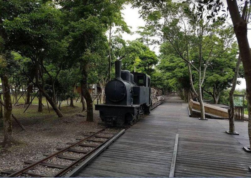▲早年從太平山將木材輸運至羅東竹林車站的「五分仔車」。(圖/記者李清貴攝,資料照)