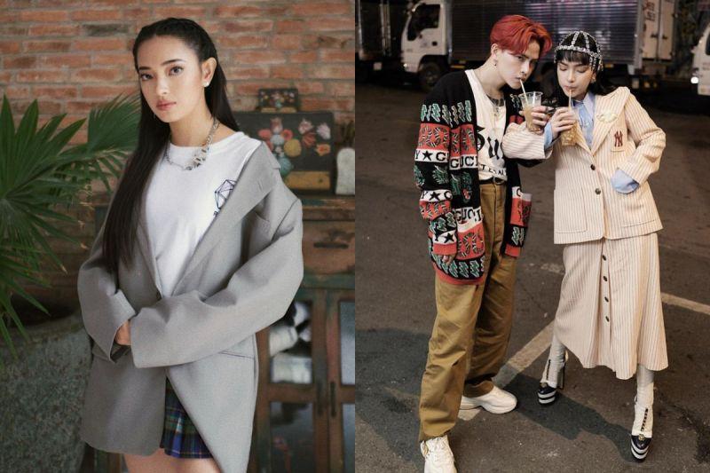 越南小個子女孩氣勢超強 和男友成時尚圈最佳拍檔