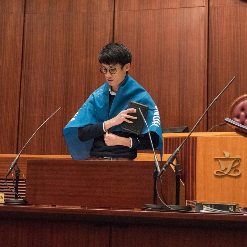 逃離香港又一人!前議員梁頌恆赴美 宣布與家人斷絕關係