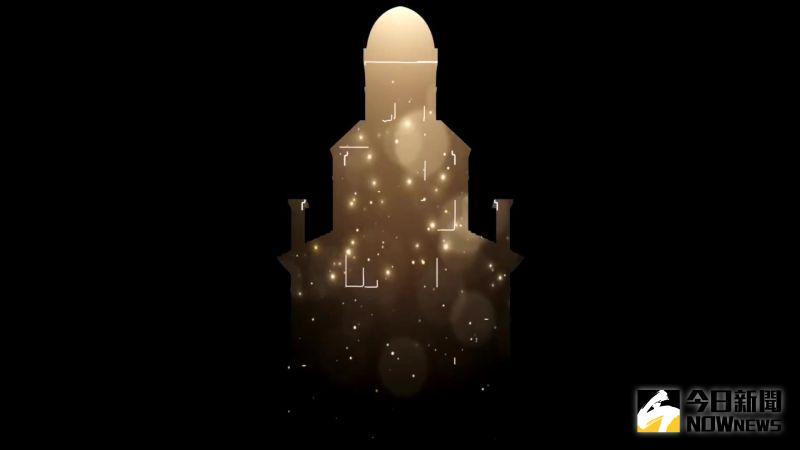 ▲絢麗又奇幻的視覺燈光,即將投射在中臺灣最古老最具指標性的教堂。(圖/記者陳雅芳攝,2020.12.