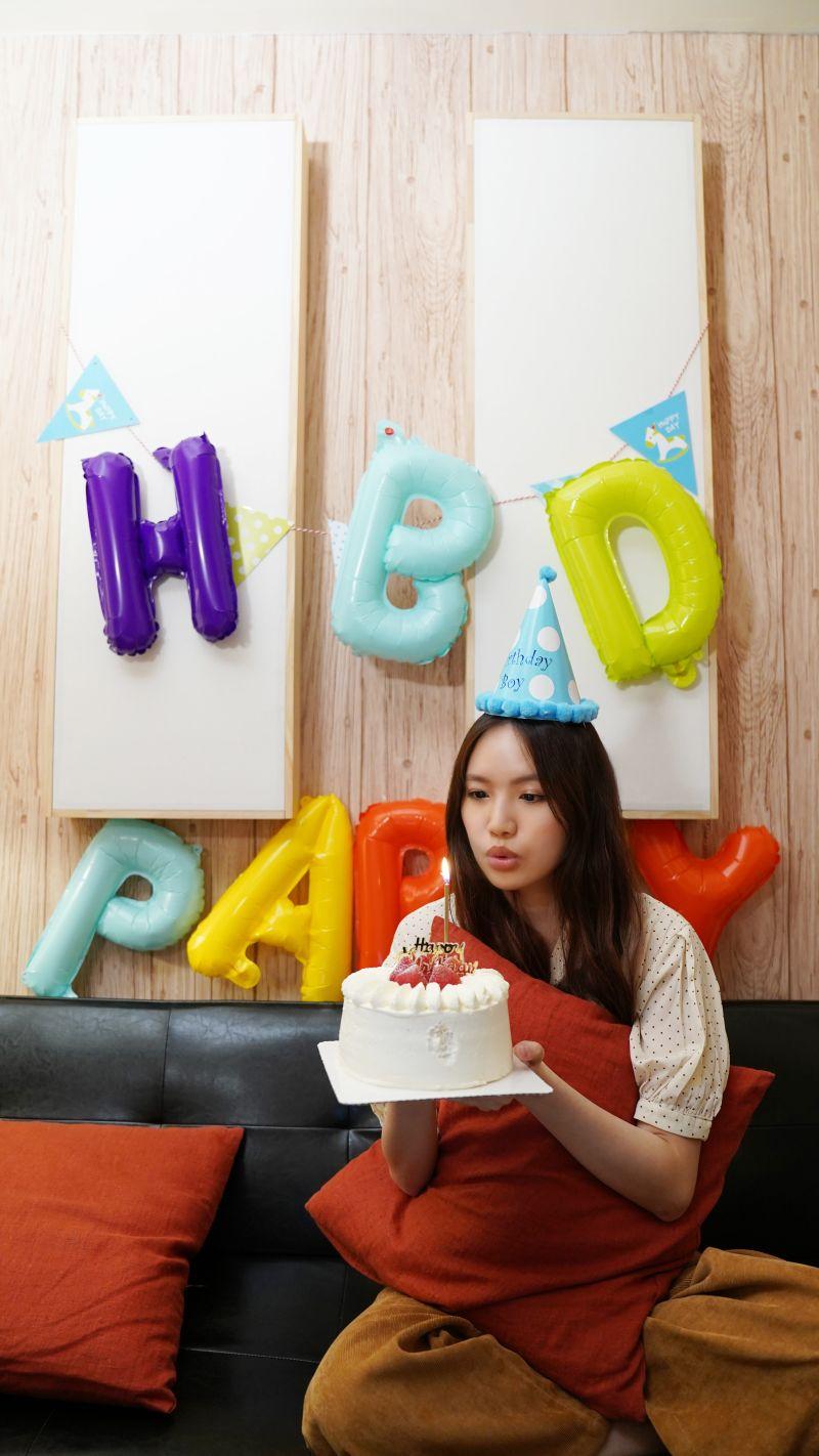 ▲文慧如日前開直播與粉絲一起歡度27歲生日。(圖/華研國際提供)