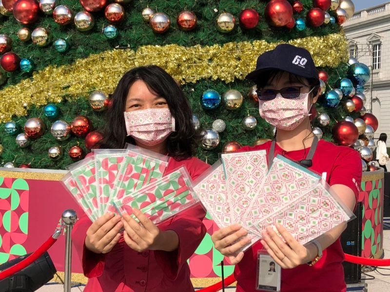 奇美聖誕週末市集吸引萬人朝聖 兩款獨家口罩集好集滿