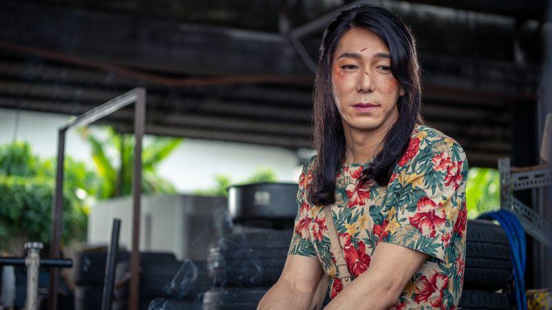 ▲▼李李仁在片中演繹跨性別者的痛苦人生。(圖/滿滿額娛樂)