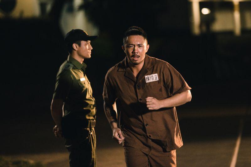 ▲▼張繼聰(上圖左,下圖右)拍《逃獄兄弟》,是人生最胖的時候。(圖/華映娛樂)