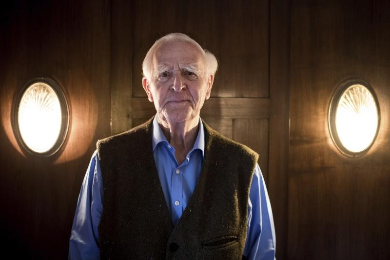 ▲電影「諜影行動」(Tinker Tailor Soldier Spy)同名原著作者、英國著名諜報小說家約翰.勒卡雷(John le Carre)昨天辭世,享壽89歲。(圖/美聯社/達志影像)