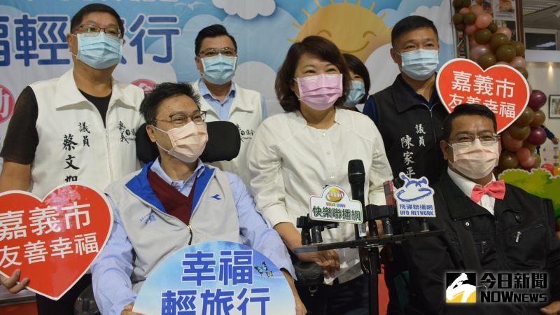 ▲嘉義市長黃敏惠表示已經幫大家踏查好10條路線。(圖/記者郭政隆攝影2020.12.14)
