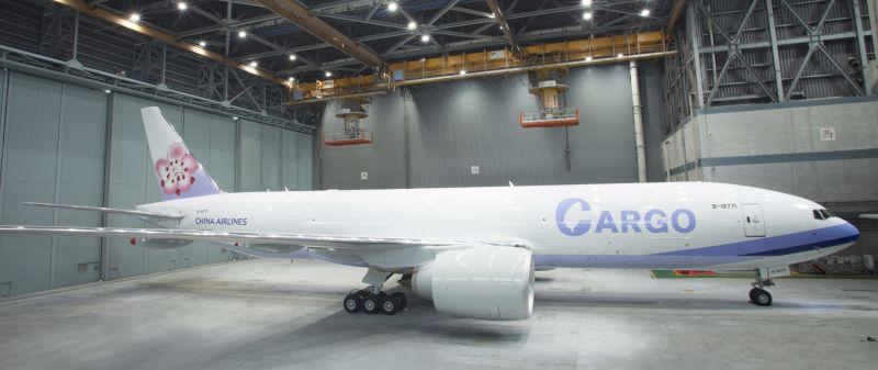 華航777F貨機