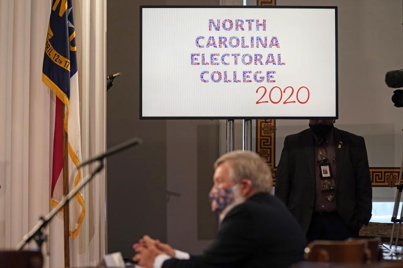選舉人團正式投票!302 vs. 232 拜登踢走川普將入白宮