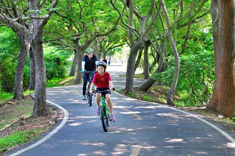 台中潭雅神自行車道森林風格 適全家大小來體驗
