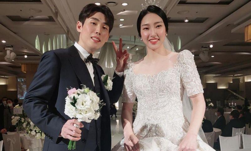 成池鉉和孫完虎在今年完婚。(圖/翻攝自成池鉉IG)