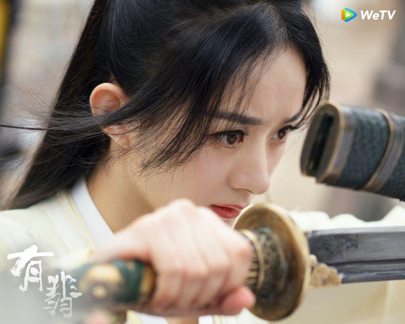 ▲ 趙麗穎產後復出大作《有翡》已上檔。(圖 / WeTV海外站提供)