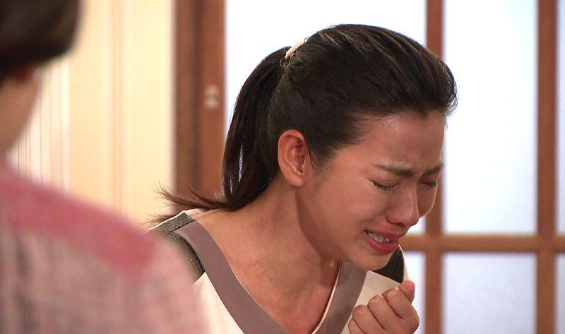▲米可白在劇中情緒飽滿,哭到林嘉俐、薛仕凌都聽到。(圖 / 台視提供)