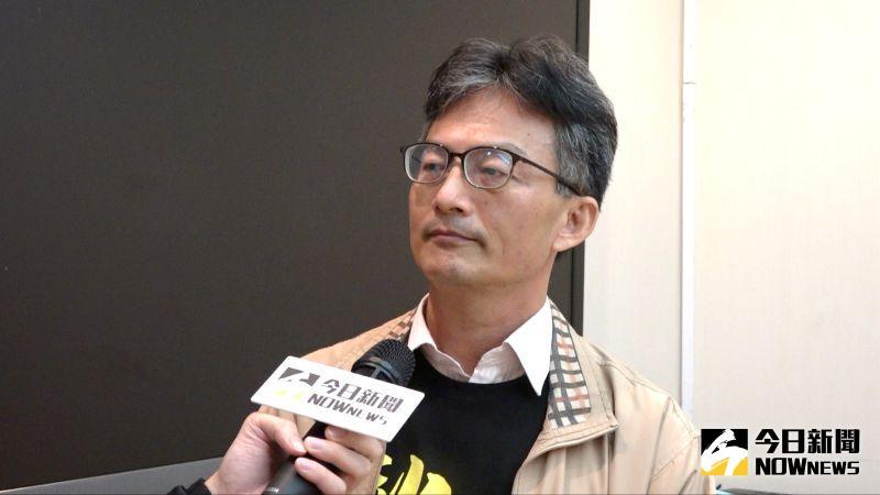 反萊豬醫師蘇偉碩。(圖/記者陳明安攝,2020.12.17)