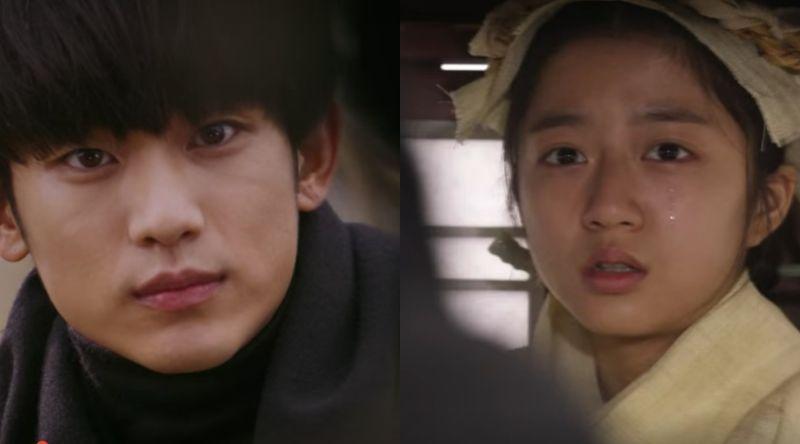 ▲金賢秀(右)演過《來自星星的你》。(圖/SBS)