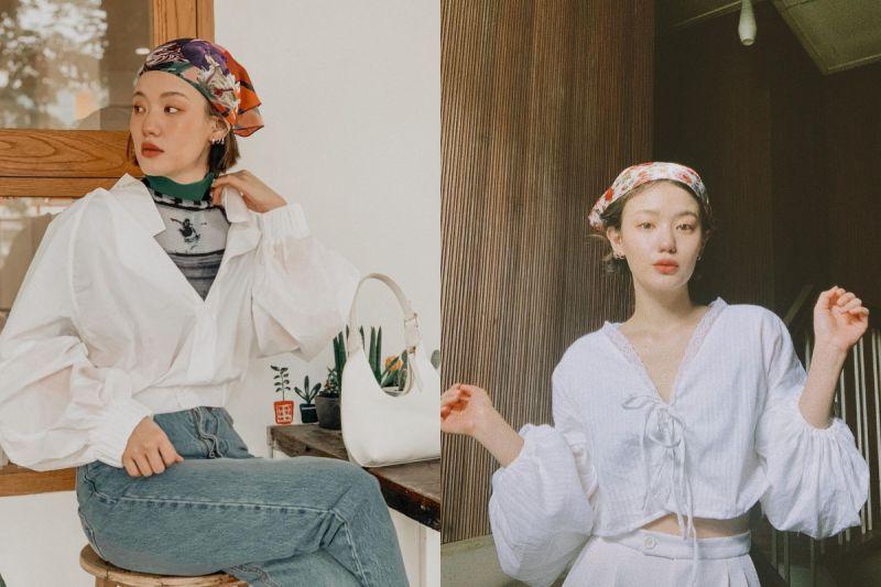 ▲NAPASSANAN熱愛配戴頭巾、帽子和髮飾,讓整體造型多了一點畫龍點睛之感。(圖/翻攝自Instagram)