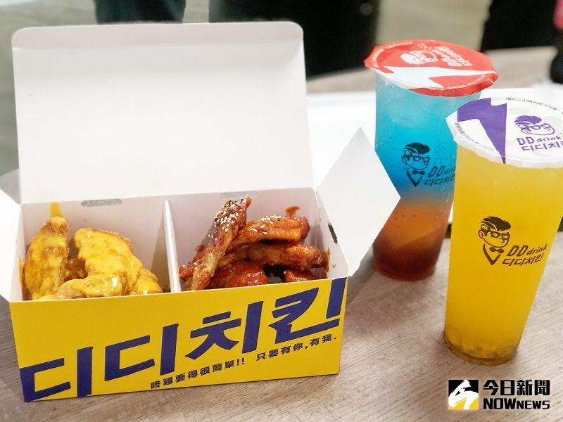 ▲「咚雞咚雞」韓式炸雞有多種口味。(圖/記者陳美嘉攝,2020.12.17)