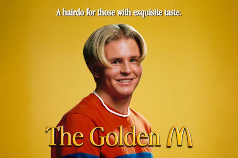 ▲麥當勞在瑞典斯德哥爾摩開設理髮店,只替顧客剪「M字頭」。(圖/翻攝自瑞典麥當勞官網)