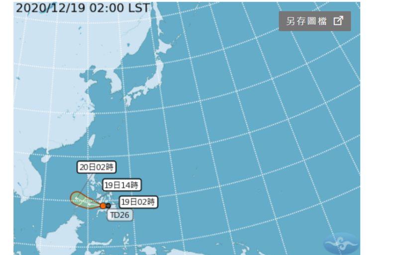 北、東部濕涼!4縣市豪大雨特報 熱帶低氣壓有成颱趨勢