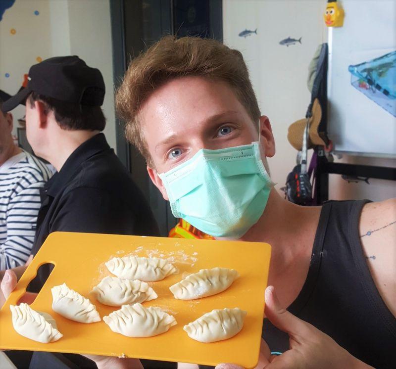 Greg來自波多黎各,目前就讀台灣大學。(Greg提供)