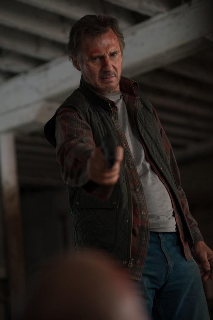 ▲連恩尼遜在新片《捍衛救援》也有感人鏡頭。(圖/車庫)