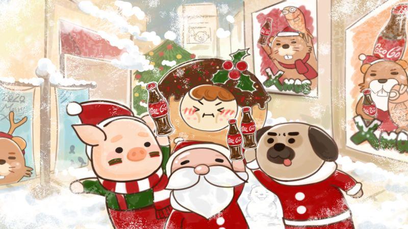 ▲該粉專更指出「最初聖誕老人形象各異,17世紀,人們相信綠色植物擁有抵禦嚴寒的魔力,所以擁有魔法的聖誕老人被設計成身穿綠衣且身材高瘦的老人」。(圖/翻攝自臉書粉專《熊掌廚