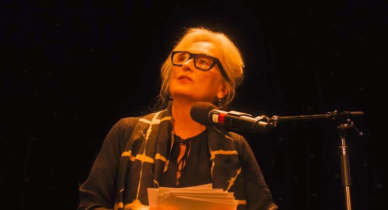 梅莉史翠普字正腔圓「朗誦唐詩」 網大讚好強的記憶力!