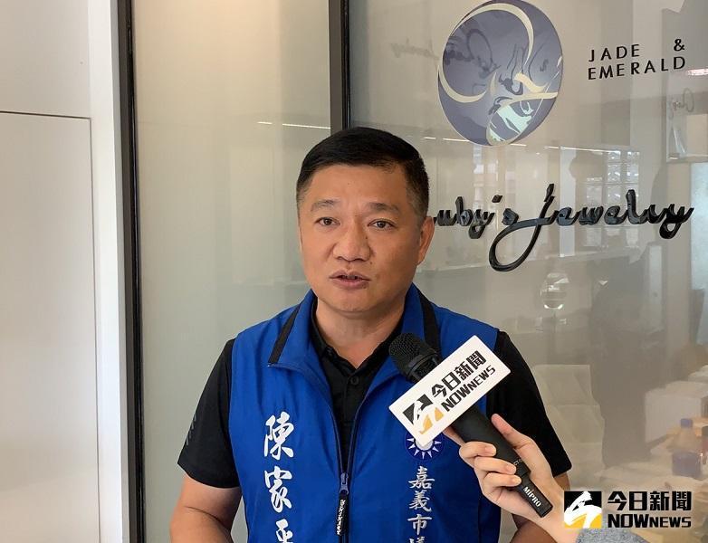 諸羅勇媽/籲黨中央傾聽民意 陳家平:監督市政不手軟