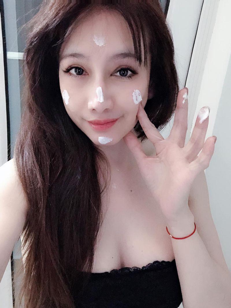 ▲▼47歲陳子璇懂得保養。(圖/陳子璇臉書)