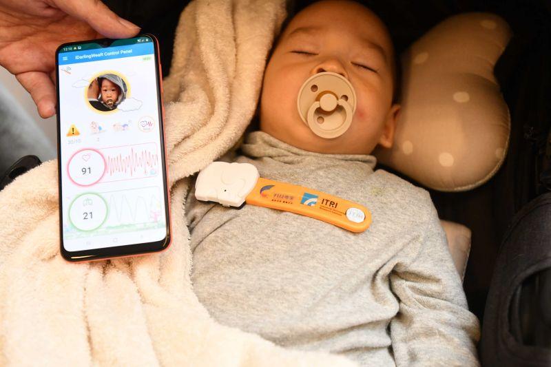 工研院i寶貝照護裝置獲CES獎    給嬰幼兒安全生活環境