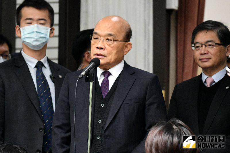 行政院長蘇貞昌。(圖/記者林柏年攝,2020.12.22)