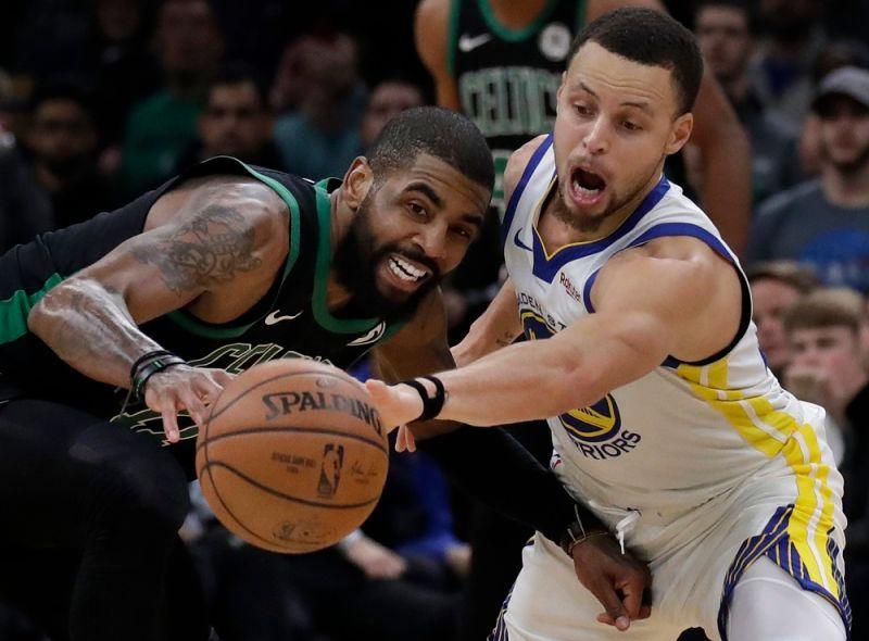NBA/面對Curry就是來勁?Irving開幕戰首節就砍17分
